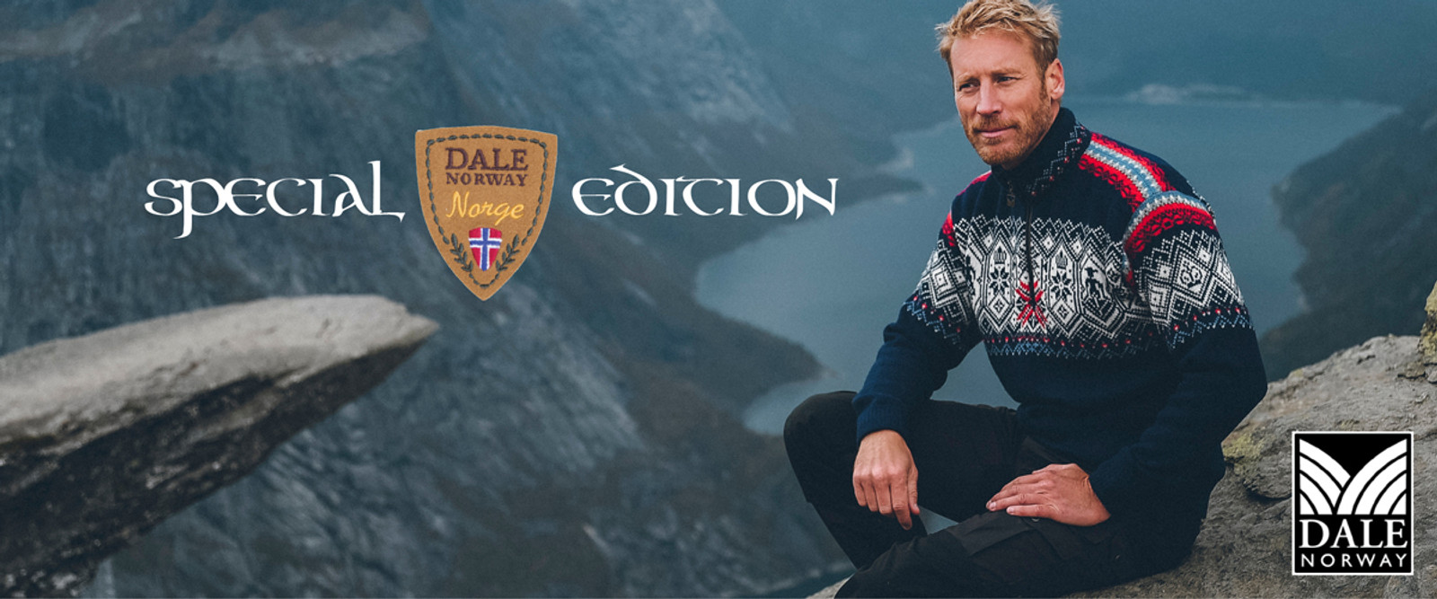 Dale of Norway Norge Special Edition Sweater