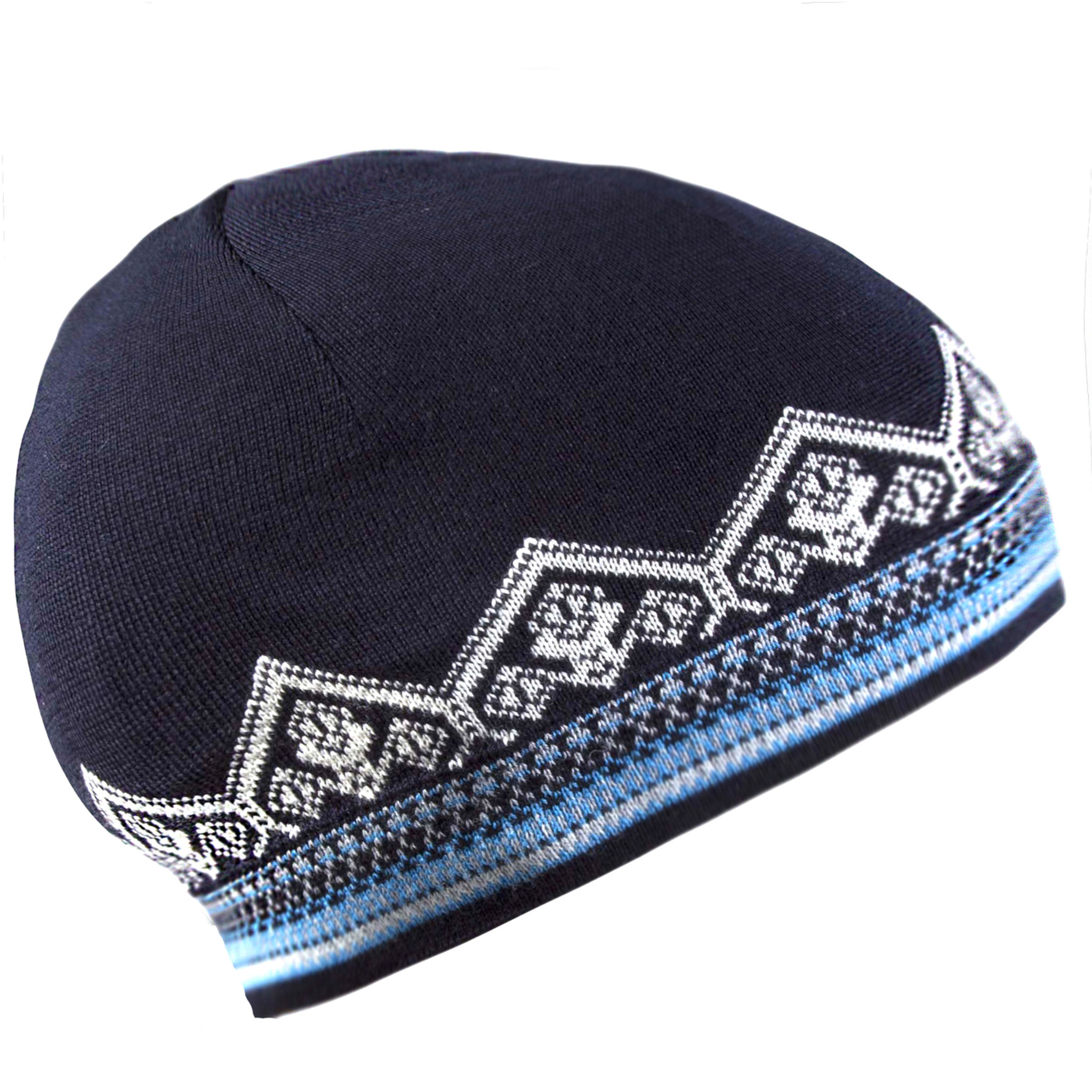 62d7ed45497 Dale of Norway Lillehammer Beanie Hat in Navy