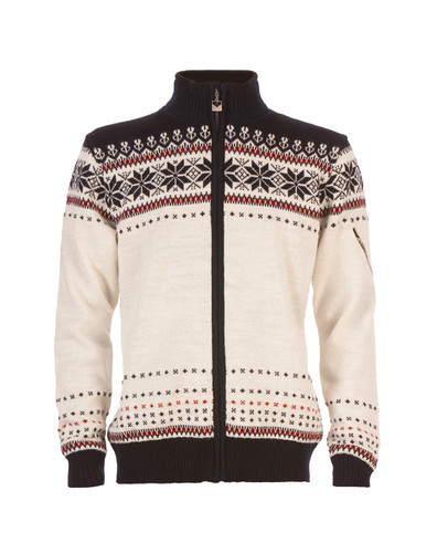 Dale of Norway, Ulriken Jacket, Unisex, in Off-White/Navy/Red Rose, 82781-A