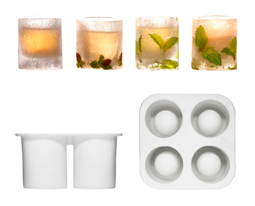 Sagaform's Ice Shot Glass Moulds