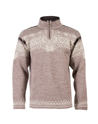 Dale of Norway Anniversary Pullover - Mountainstone/Sand/Lava Mel, 34931-P