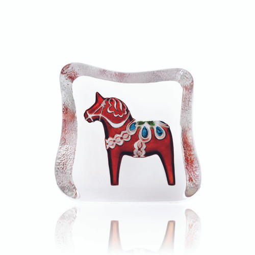 Mats Jonasson Small Red Swedish Dala Horse