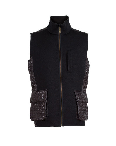 Dale of Norway, Jeger Knitshell vest, Mens, in Black, 85061-F