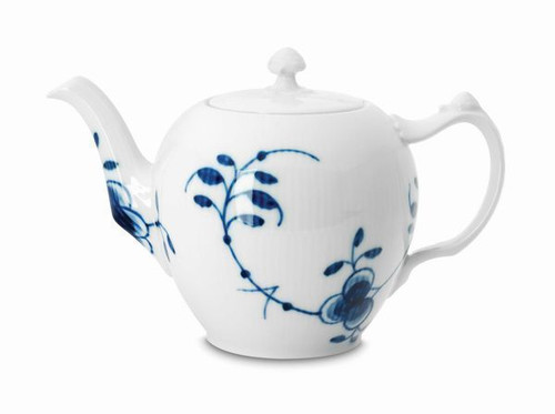 Royal Copenhagen Blue Fluted Mega Teapot, 1 qt