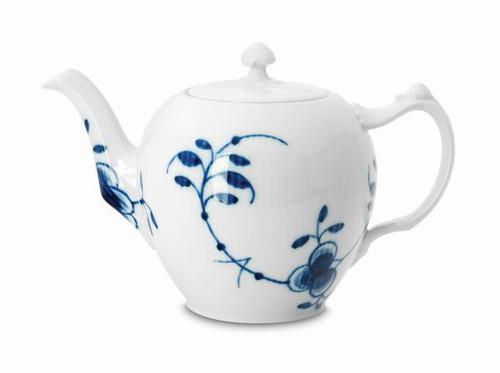 Royal Copenhagen Blue Fluted Mega Teapot, 1 qt
