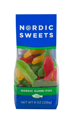 Nordic Sweets Assorted Gummi Fish