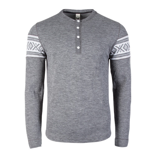 Dale of Norway, Bykle Pullover, Mens, Smoke/White, 93211-E