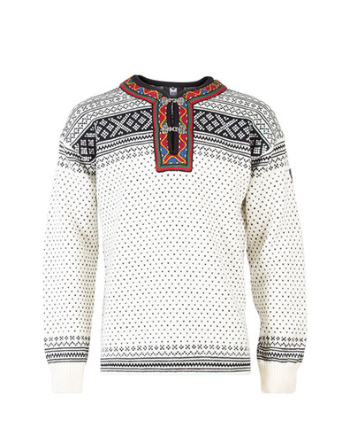 Dale of Norway, Setesdal sweater, unisex, in Off White/Black, 90381-A