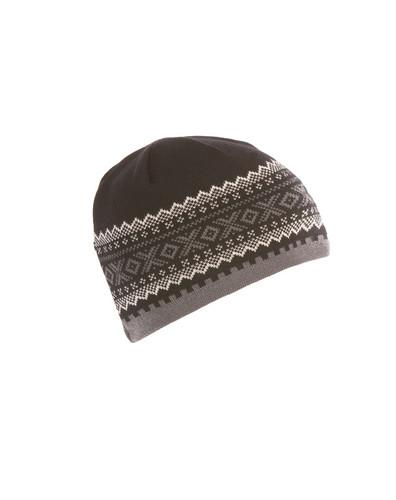 Dale of Norway Kongsvollen Hat - Black/Schiefer/Off White, 40591-F