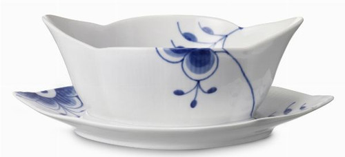 Royal Copenhagen Blue Fluted Mega Sauce Boat, 9""