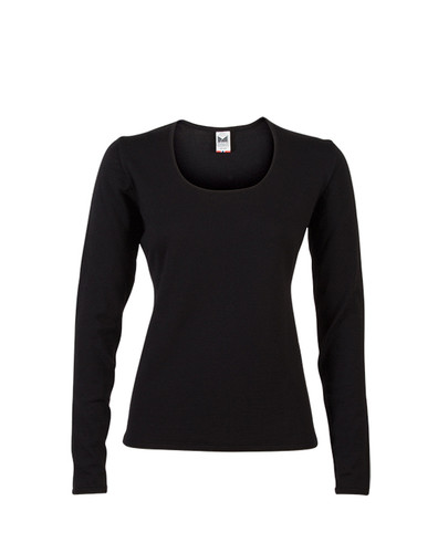 Dale of Norway, Astrid ladies sweater in Black, 92432-F