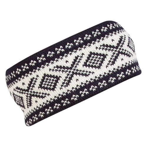 Dale of Norway Cortina 1956 Headband - Navy/Off White, 25014-C