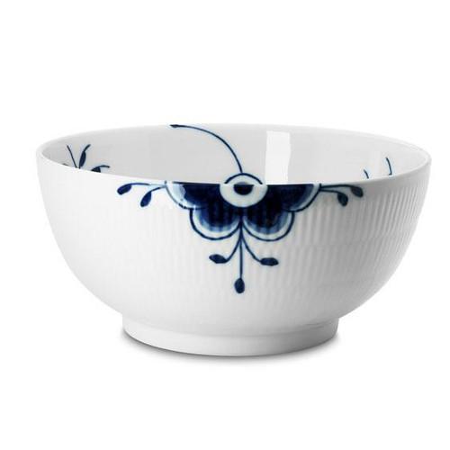 """Royal Copenhagen Blue Fluted Mega X-Large Serving Bowl, 9.5"""""""