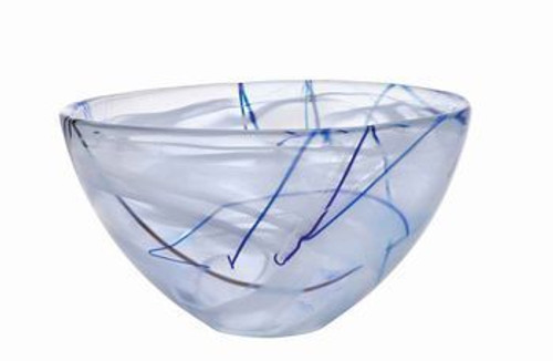 Contrast White Bowl- Medium