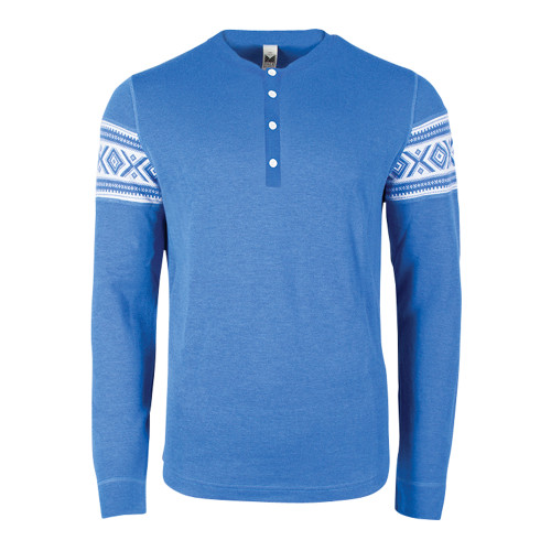 Dale of Norway Bykle Sweater, Mens - Cobalt/White, 93211-H