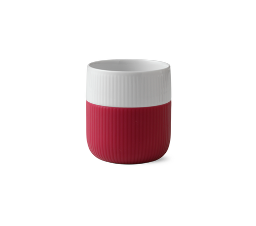 Royal Copenhagen Fluted Contrast Mug - Raspberry