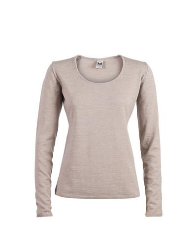 Dale of Norway, Astrid ladies sweater in Beige Mel, 92432-P