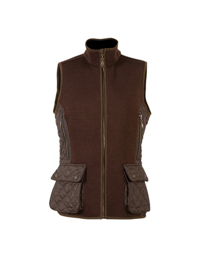 Dale of Norway, Jeger Knitshell, ladies vest in Mocca, 85041-R