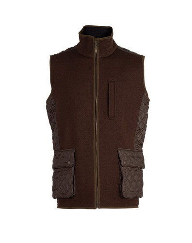 Dale of Norway, Jeger Knitshell Vest, Mens, in Mocca, 85061-R