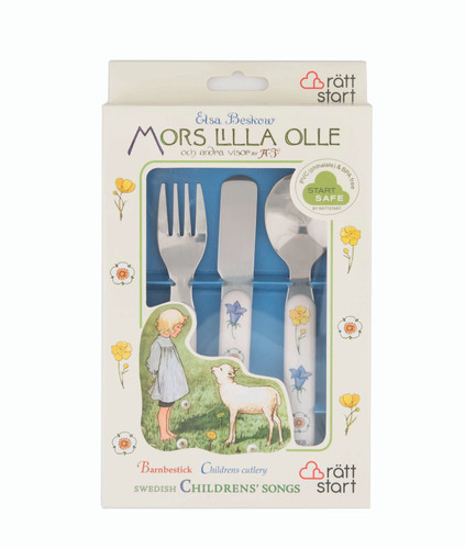 Swedish Children's Songs - Children's Cutlery Set
