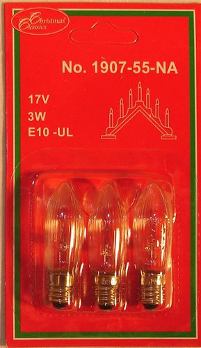 Swedish 7 Light Candelabra Replacement Lightbulbs