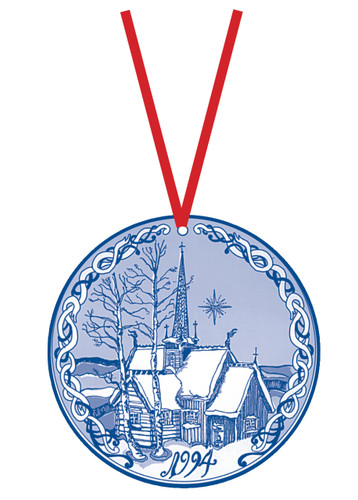 1994 Stav Church Ornament - Lillehammer. Made by Norse Traditions and available at The Nordic Shop.