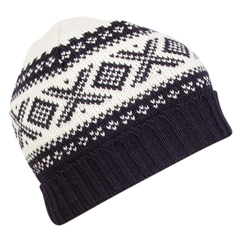 Dale of Norway Cortina Unisex Hat in Navy/Off White, 42261-C