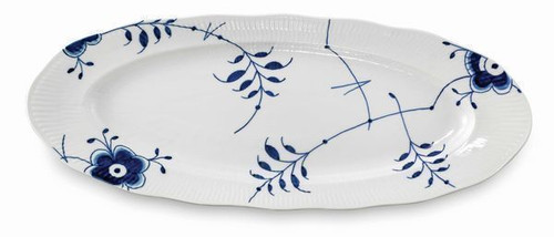Royal Copenhagen Blue Fluted Mega Oval Fish Platter, 23.5""