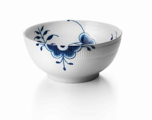 """Royal Copenhagen Blue Fluted Mega Medium Serving Bowl, 7"""""""