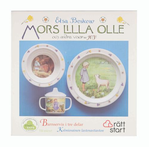 Elsa Beskow - Swedish Children's Songs - Children's Dish Set