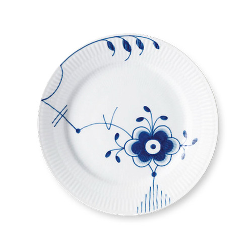 Royal Copenhagen Blue Fluted Mega Salad Plate No. 6, 8.75""