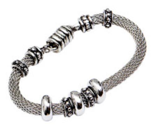 Danish Silversmiths Silver Bead Bracelet