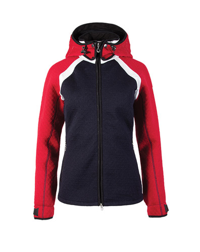 Dale of Norway, Ladies, Jotunheimen Jacket,  Navy/Raspberry/Off White, 85141-K