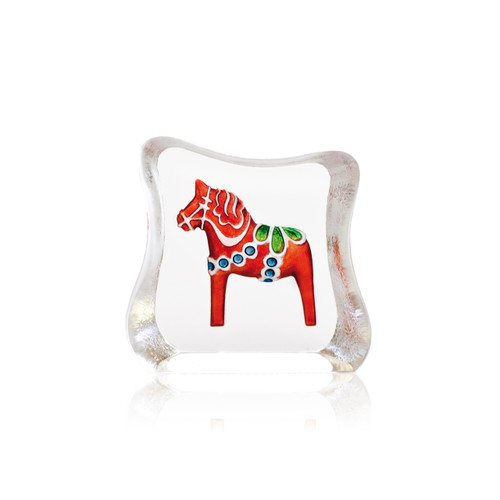 Mats Jonasson Miniature Red Swedish Dala Horse