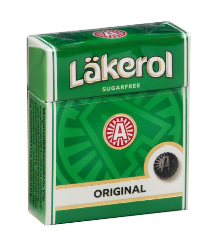 Lakerol Original Herb Menthol Lozenges