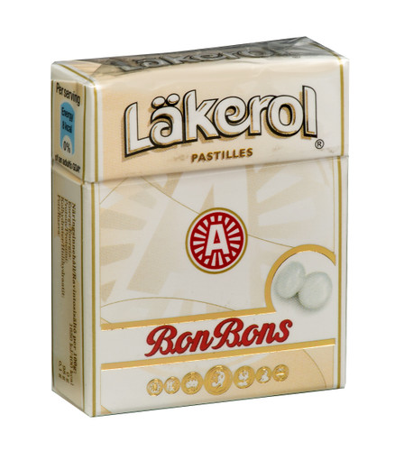 Lakerol Peppermint Bon Bons Lozenges