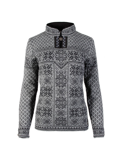 Dale of Norway, ladies Peace sweater in Smoke/Dark Charcoal, 13311-E