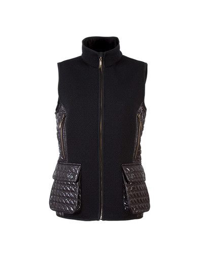 Dale of Norway, Jeger Knitshell ladies vest in Black, 85041-F