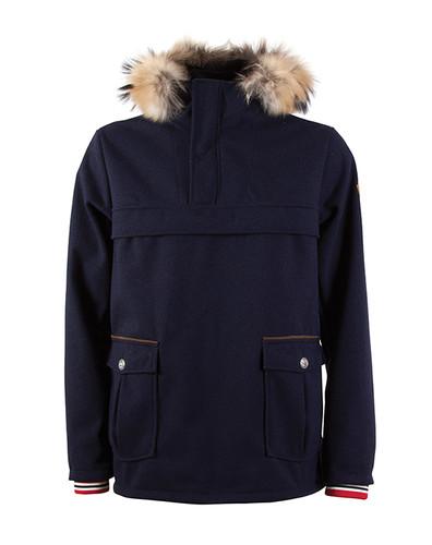 Dale of Norway Fjellanorakk Knitshell Jacket, Mens - Navy, 82921-C