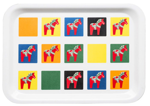 Sagaform's Sweden Dala Horse Serving Tray