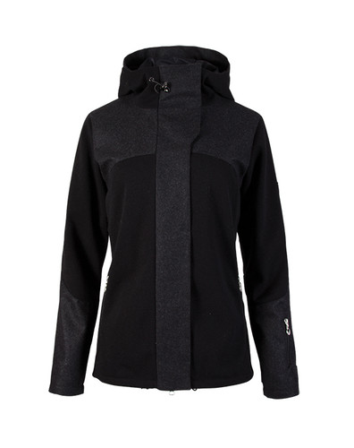Dale of Norway, Ladies Stryn Jacket, Black/Dark Charcoal, 85121-F
