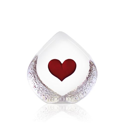 Mats Jonasson Small Red Heart