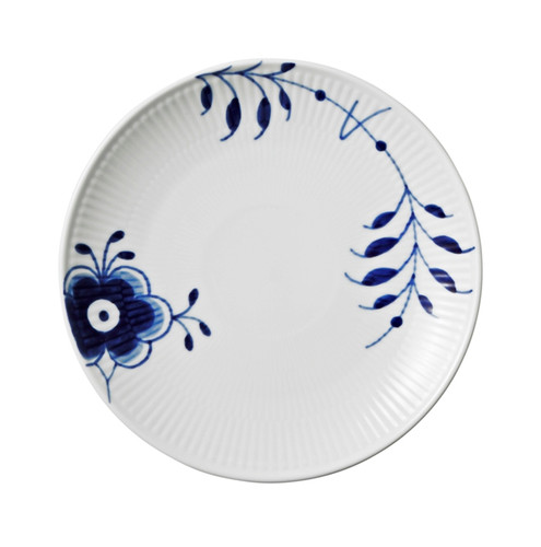 "Royal Copenhagen Blue Fluted Mega Bread & Butter Plate, 7.5"""