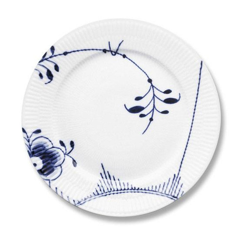 "Royal Copenhagen Blue Fluted Mega Dinner Plate No. 2, 10.75"""