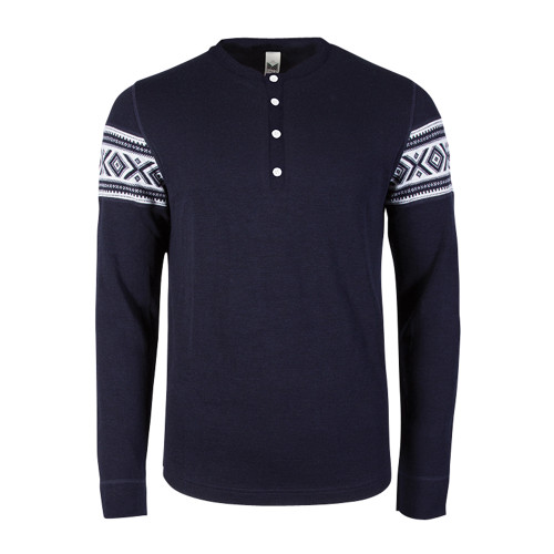 Dale of Norway, Bykle Pullover, Mens, in Navy/White, 93211-C