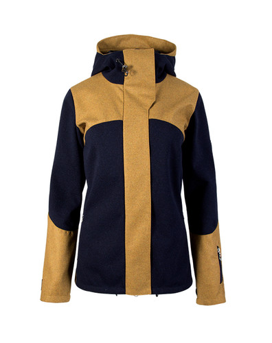 Dale of Norway, Ladies, Stryn Jacket, Navy/Mustard, 85121-C