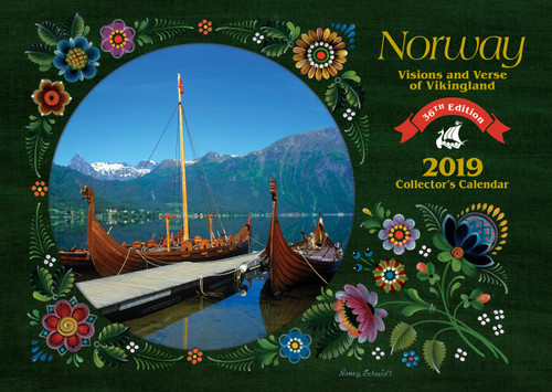 2019 Norway Visions and Verse Calendar - Paulstad