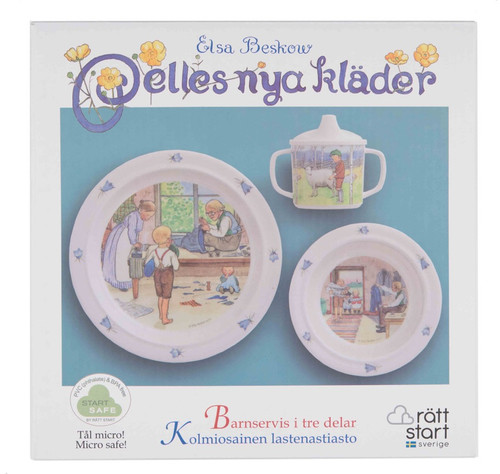 Elsa Beskow - Pelle's New Suit - Children's Dish Set (282.06)