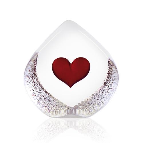 Mats Jonasson Large Red Heart