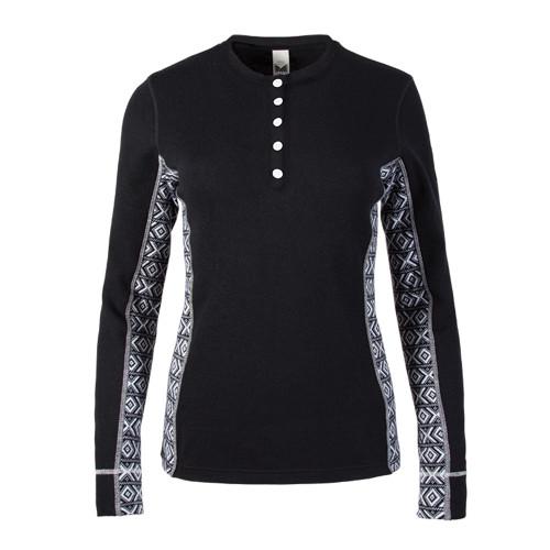 Dale of Norway Bykle Shirting, Ladies - Black/White, 93201-F